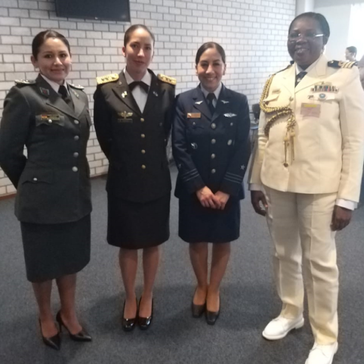 GRATO apoya en Peacekeeping Training for Female Military Officers